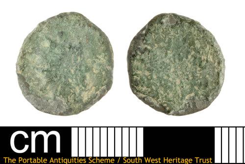 SOM-6ECAAD: Roman Coin: Radiate of unclear emperor