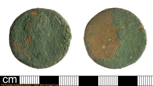 SOM-DB0106: Roman coin: sestertius possibly of Trajan