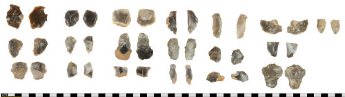 DEV-E7D297: Neolithic to Early Bronze Age flint debitage