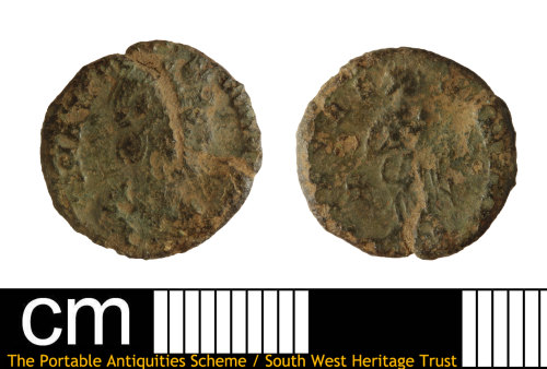 DEV-FC6C43: Roman coin: nummus of the House of Constantine