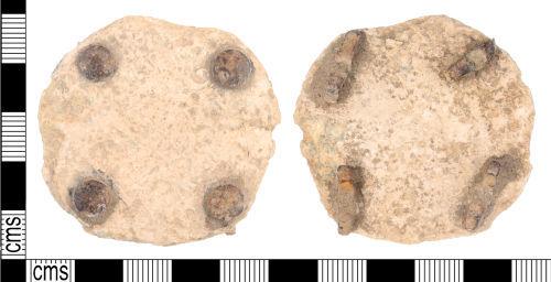 KENT-A1D3B1: KENT-A1D3B1: Post Medieval Mount