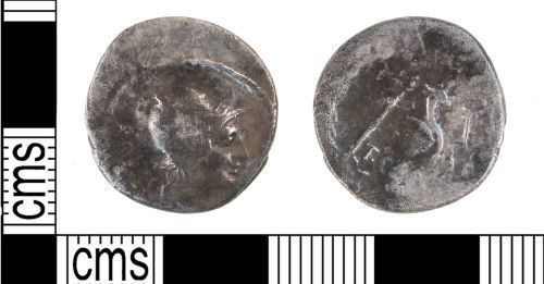 KENT-DD1874: Roman silver denarius