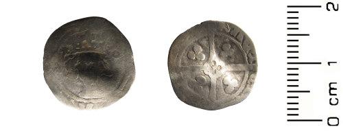 HESH-709BD3: Medieval: Henry V penny