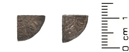 WAW-84EC3B: Medieval: Henry III cut farthing
