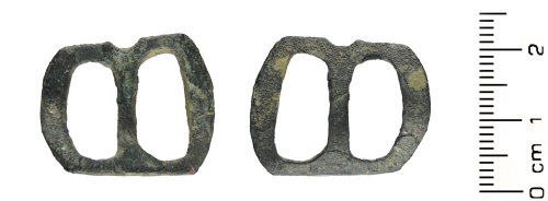 WAW-A52F47: Medieval: double-loop buckle
