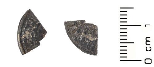 WAW-FE0C1B: Medieval: Henry II - Henry III cut farthing