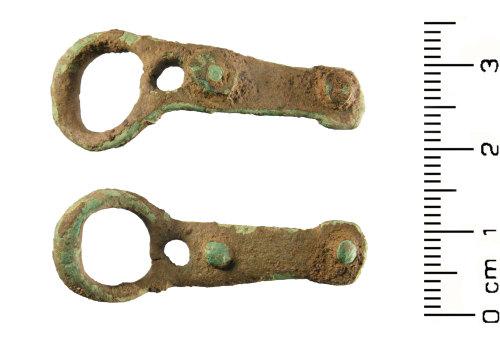 WMID-F8EC06: Medieval: buckle fragment
