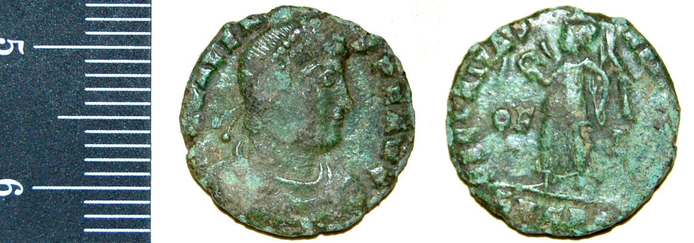 CAM-8433B4: Nummus of Valens