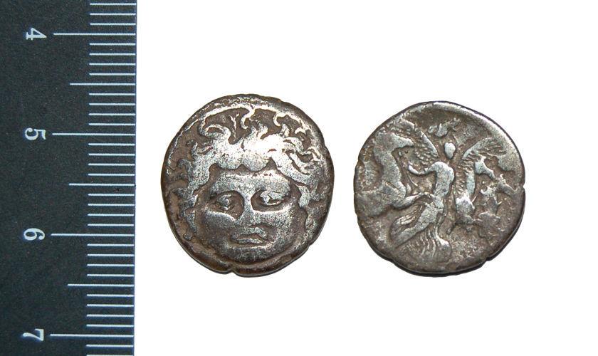 CAM-DE4125: Republican Denarius-moneyer L.Plautius Plancus 47BC.