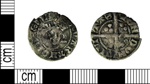 LEIC-545585: Medieval silver Edwardian penny, 1300-1314