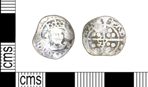 LEIC-B4A823: Medieval silver penny of Edward IV, 1471-83