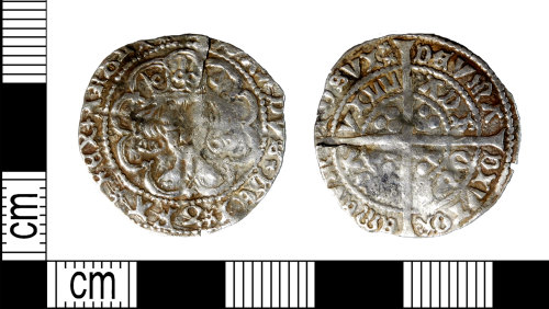 LEIC-FADEE1: Medieval silver groat of Edward IV, 1472