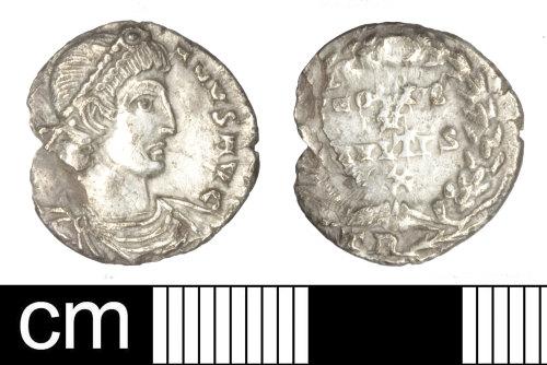 SOM-B72B90: Roman coin: siliqua of Julian Augustus