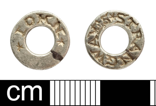 SOM-E93B19: Post Medieval hawking vervel