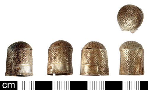 SOM-F91FCB: Post Medieval thimble
