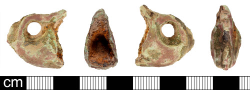 DEV-097301: Early Medieval to Medieval stirrup terminal