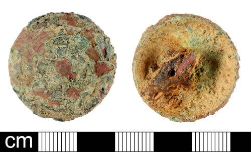 DEV-09A0DE: Post-Medieval button