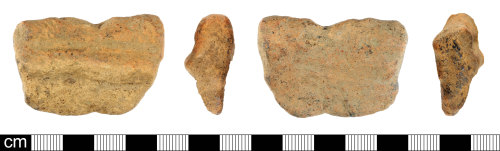DEV-0A3594: Post-medieval ceramic rim sherd