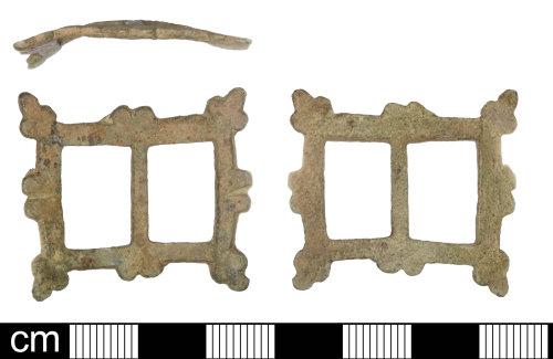 SOM-023C97: Post Medieval buckle