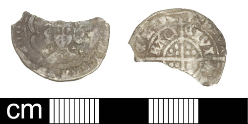 SOM-15B13C: Medieval coin: halfgroat of Edward IV, First reign