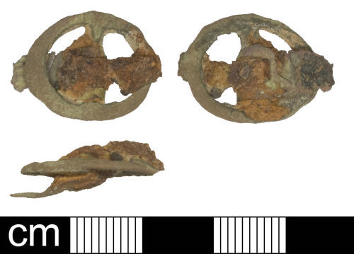 SOM-2C0625: Post medieval buckle