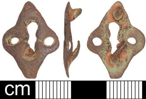 SOM-3FDBB7: Post Medieval mount