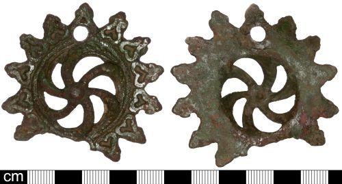 SOM-400FE3: Post Medieval bridle boss