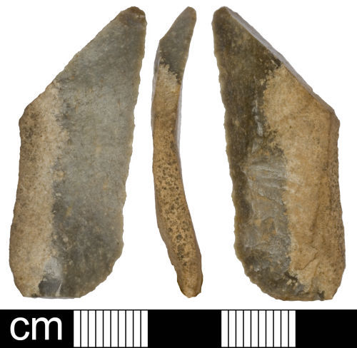 SOM-4879C7: Neolithic retouched blade