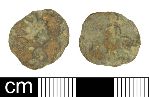 SOM-566287: Roman coin: radiate probably of Tetricus I