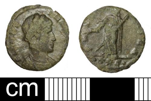SOM-591580: Roman coin: nummus of Helena