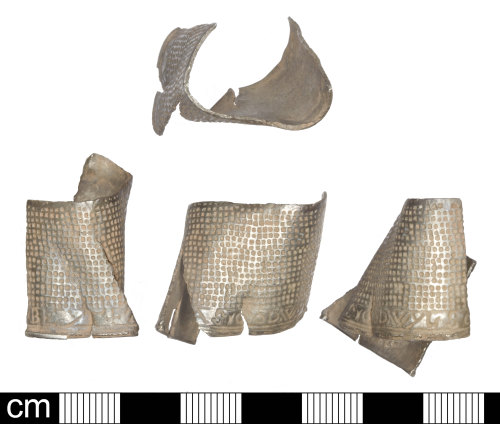SOM-62A2F8: Post Medieval thimble