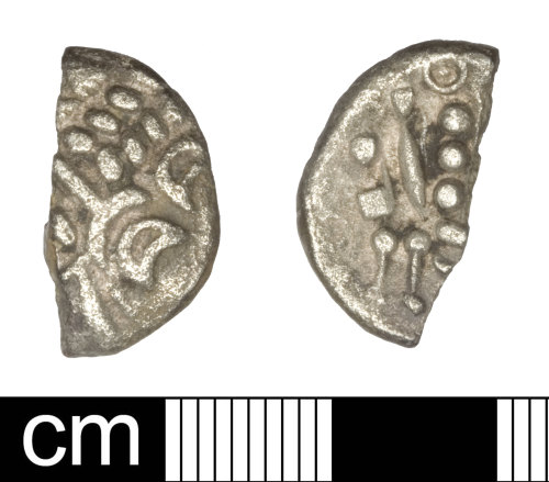 A resized image of British Iron Age coin: stater, uninscribed South western (Durotriges)
