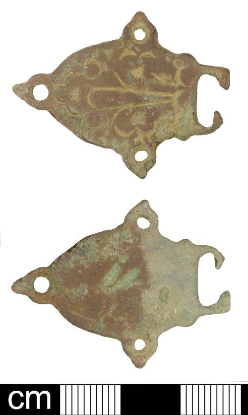 SOM-8BC636: Post Medieval dress fasterner