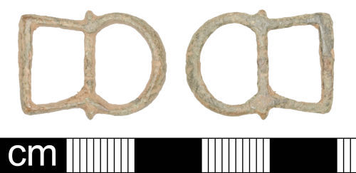 SOM-AB72B7: Post Medieval buckle