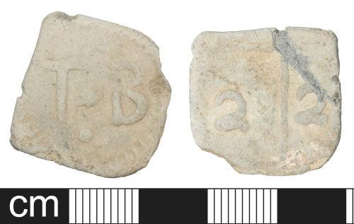 SOM-C04C49: Post Medieval lead token