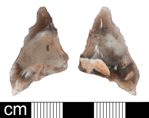 SOM-D020D1: Late Neolithic unfinished oblique arrowhead