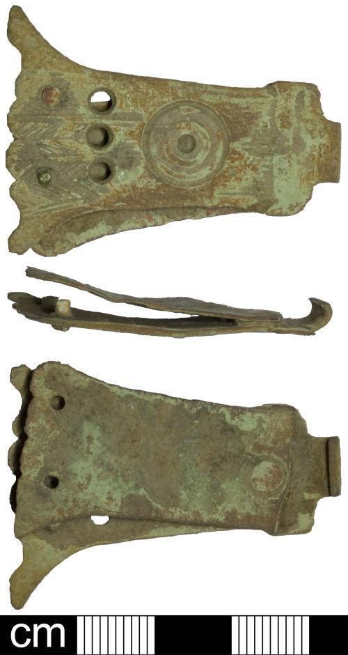 SOM-F56DA3: Post Medieval book clasp
