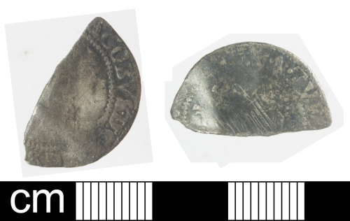 SOM-0582A8: Post-medieval coin: Irish sixpence of James I