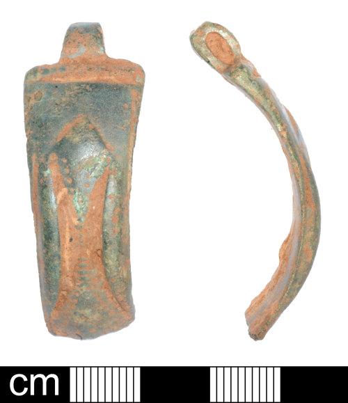 SOM-0A772D: Late Iron Age to Roman bracelet