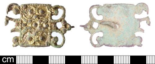 SOM-273CC9: Post Medieval mount