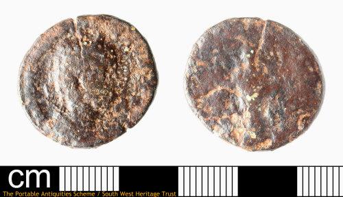 SOM-2C7BC4: Roman coin: dupondius or as of Julia Mamaea