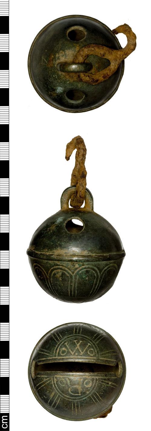 SOM-39F451: Post Medieval bell