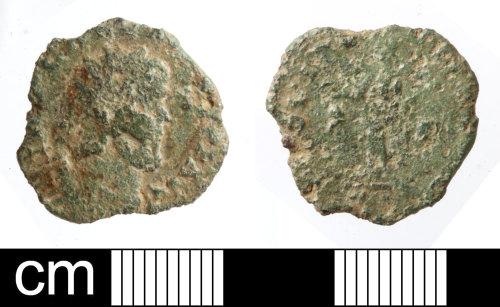 SOM-46E5B8: Roman coin: radiate of unclear emperor