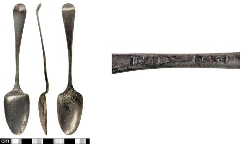 SOM-59B871: Post Medieval spoon