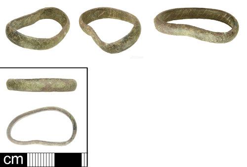 SOM-5C93B4: Post Medieval posy ring