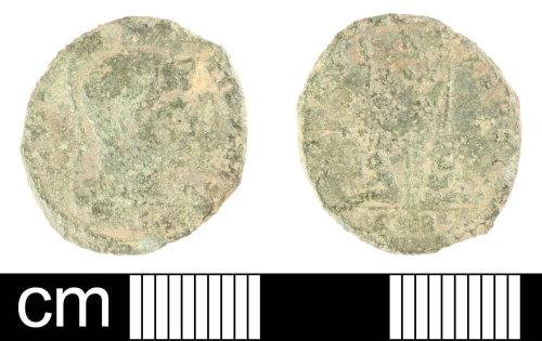SOM-717445: Roman coin: nummus of Constantine I