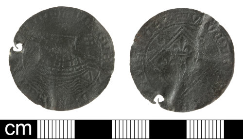 SOM-7BAAE4: medieval to post-medieval jetton: Nuremberg type of anonymous issuer