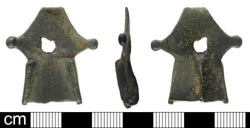 SOM-7F1B07: Roman Aesica variant brooch