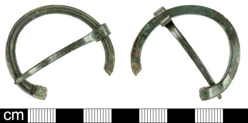 SOM-7FED19: Roman penannular brooch