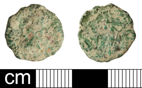 SOM-8864D5: Roman coin: radiate of unknown emperor